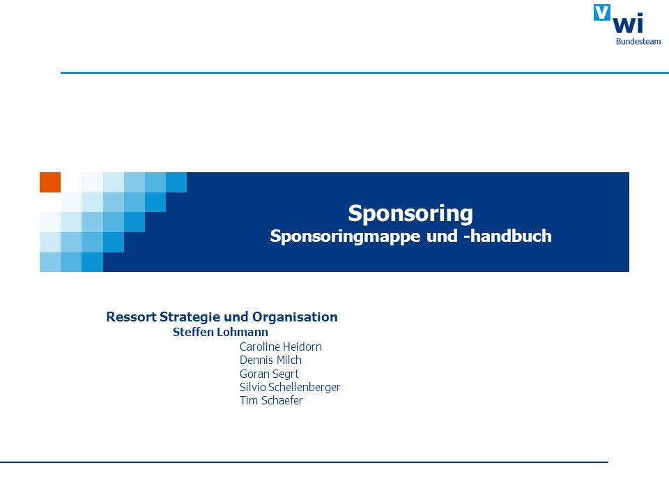 Sponsoring Sponsoringmappe und -handbuch