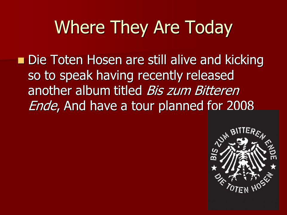 Where They Are Today