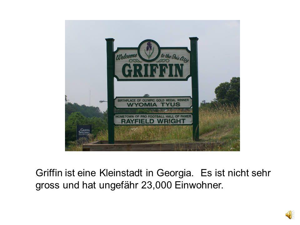 Griffin ist eine Kleinstadt in Georgia