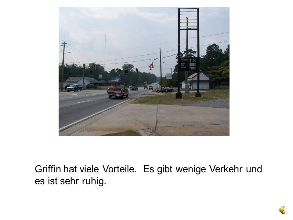 Griffin hat viele Vorteile