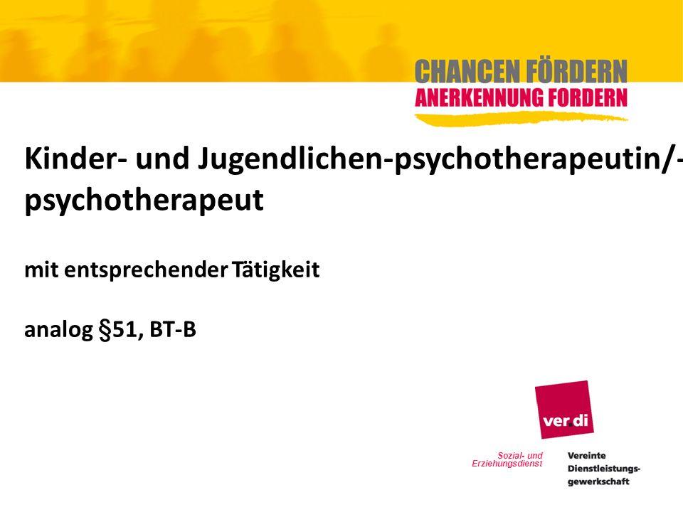 Kinder- und Jugendlichen-psychotherapeutin/-psychotherapeut