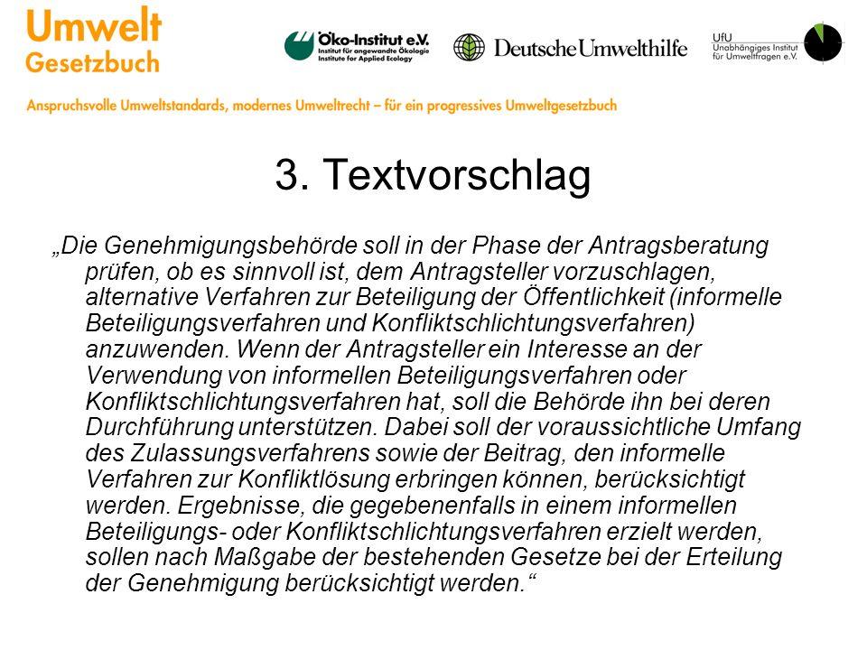 3. Textvorschlag