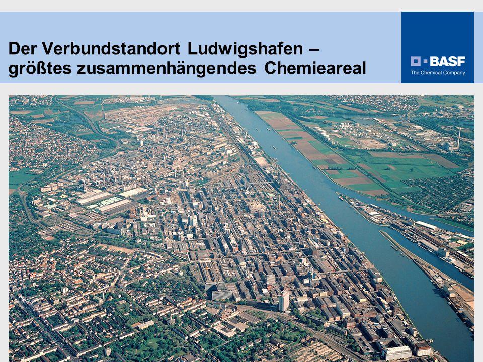 27.03.2017 Der Verbundstandort Ludwigshafen – größtes zusammenhängendes Chemieareal. 13 959d-02_Im Ueberblick.