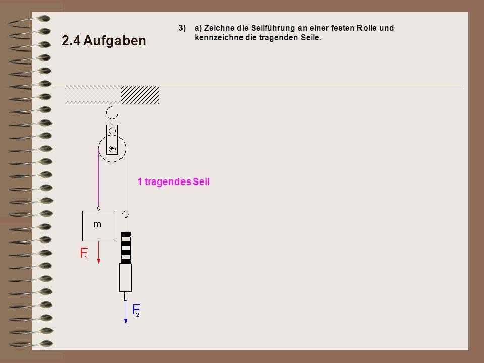 2.4 Aufgaben 1 tragendes Seil 3)