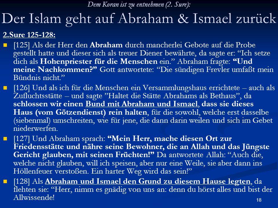 Dem Koran ist zu entnehmen (2