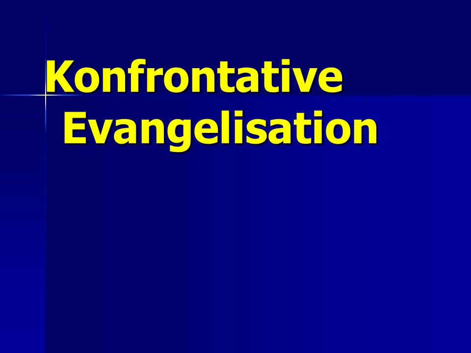 Konfrontative Evangelisation