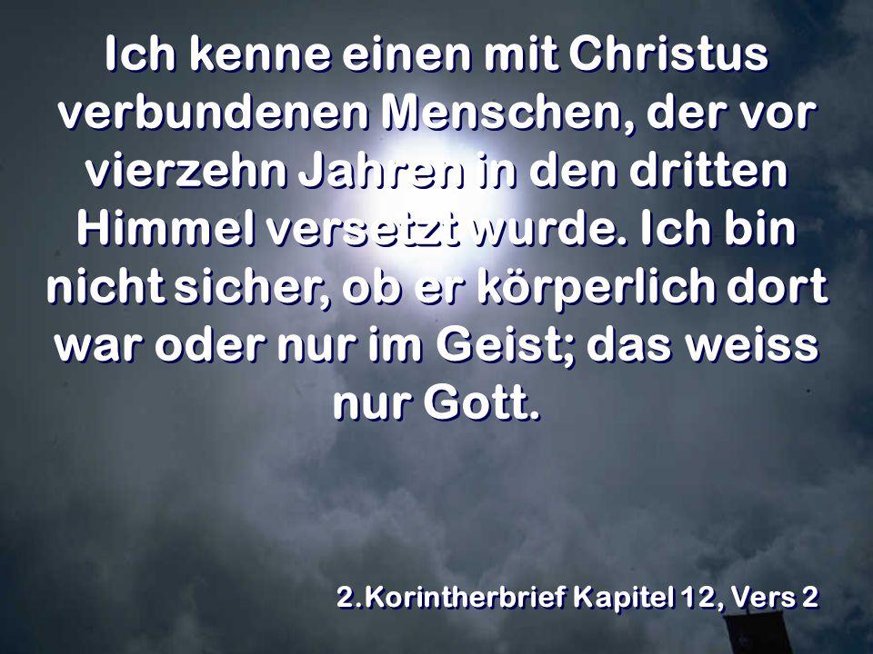 2.Korintherbrief Kapitel 12, Vers 2