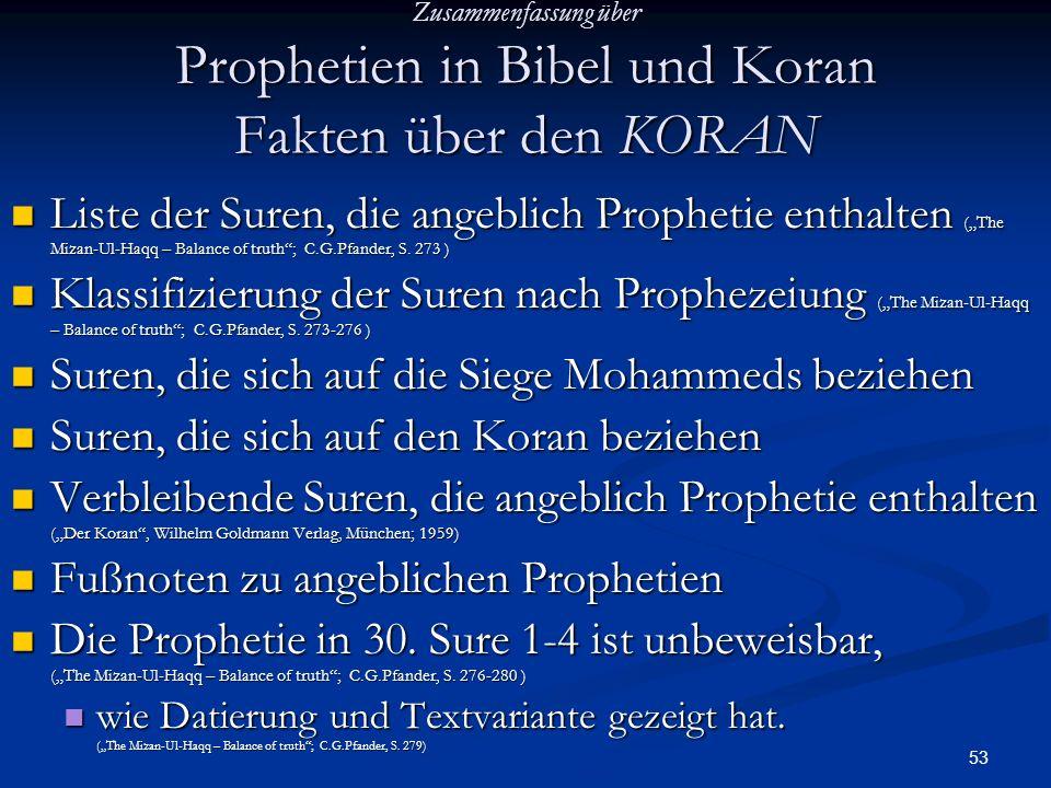 Suren, die sich auf die Siege Mohammeds beziehen