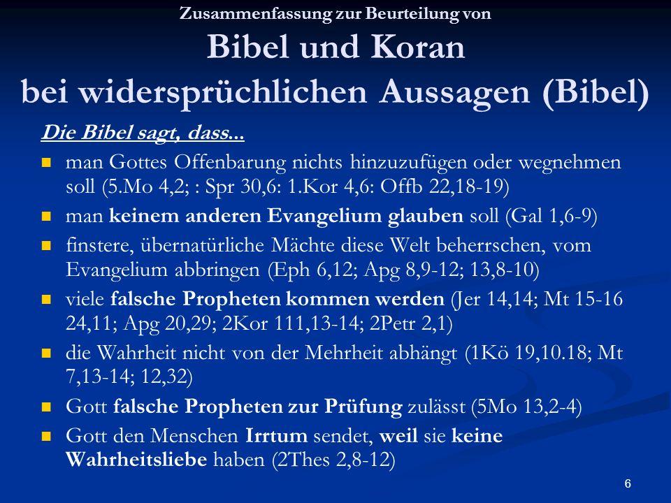 man keinem anderen Evangelium glauben soll (Gal 1,6-9)