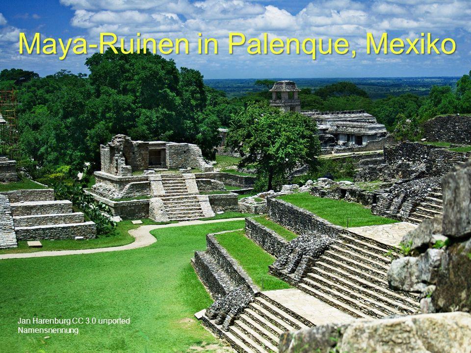 Maya-Ruinen in Palenque, Mexiko