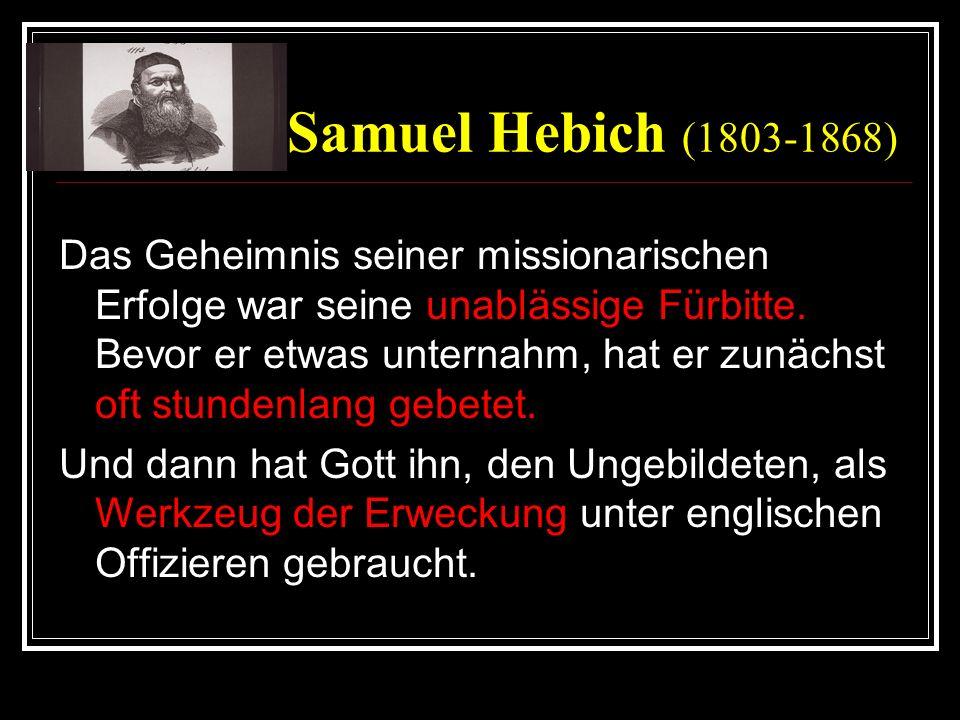Samuel Hebich (1803-1868)