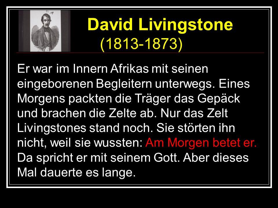 David Livingstone (1813-1873)