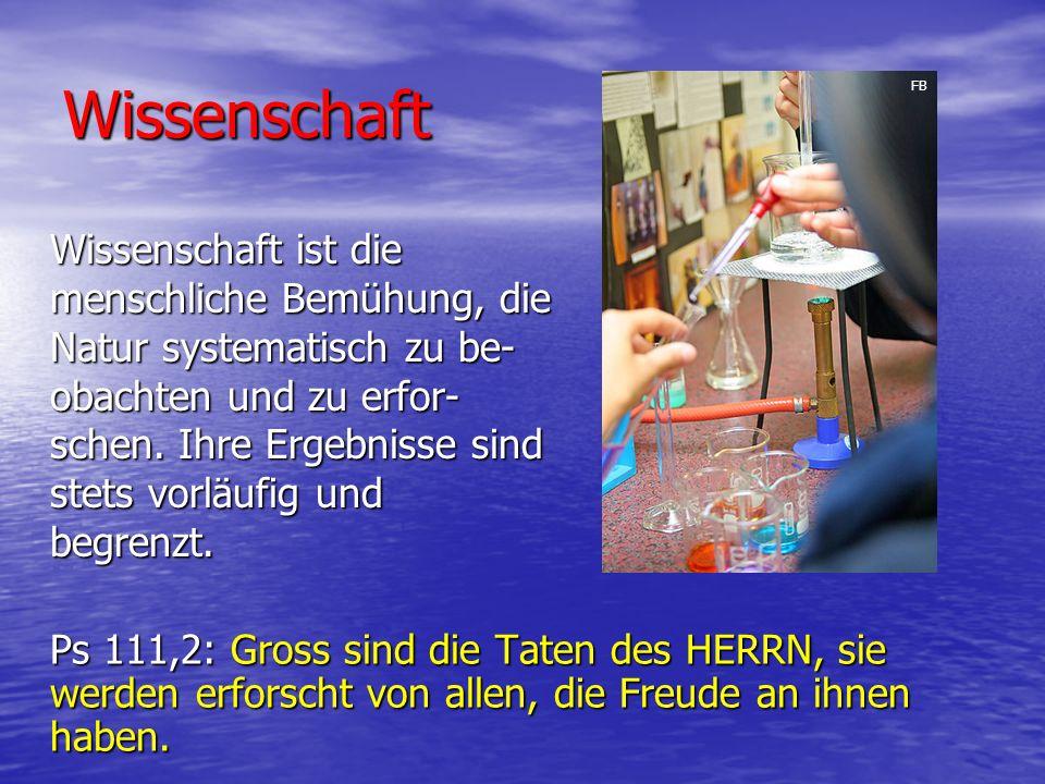 Wissenschaft FB.