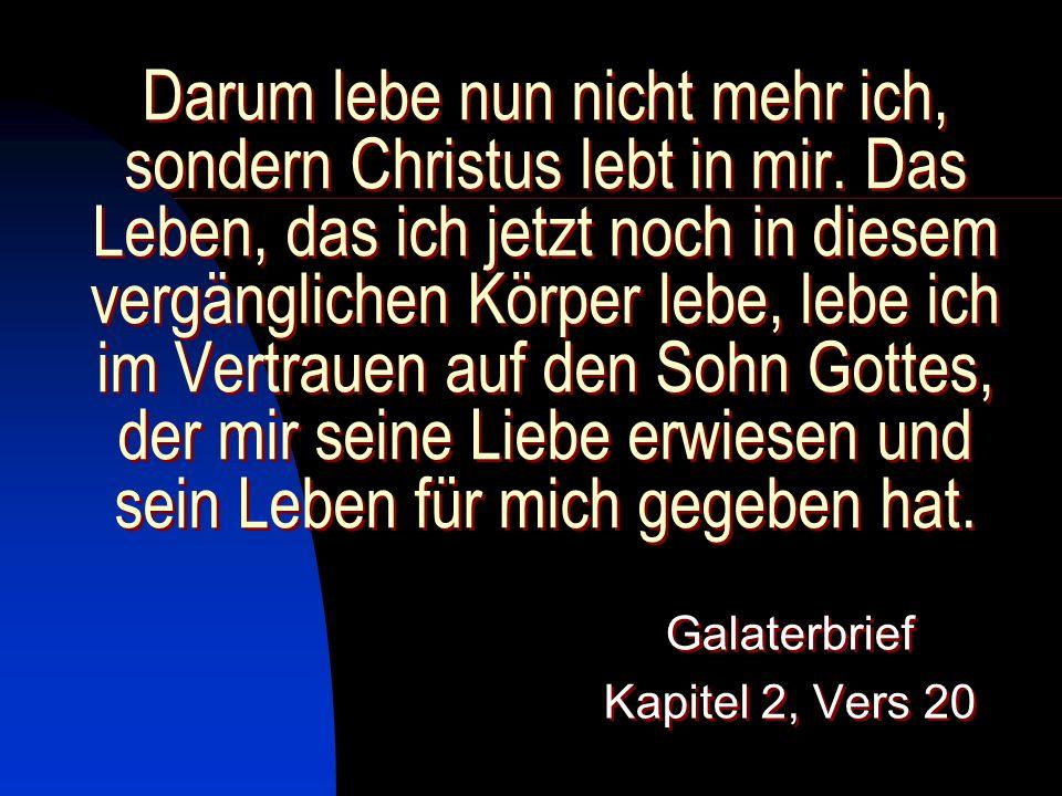 Galaterbrief Kapitel 2, Vers 20