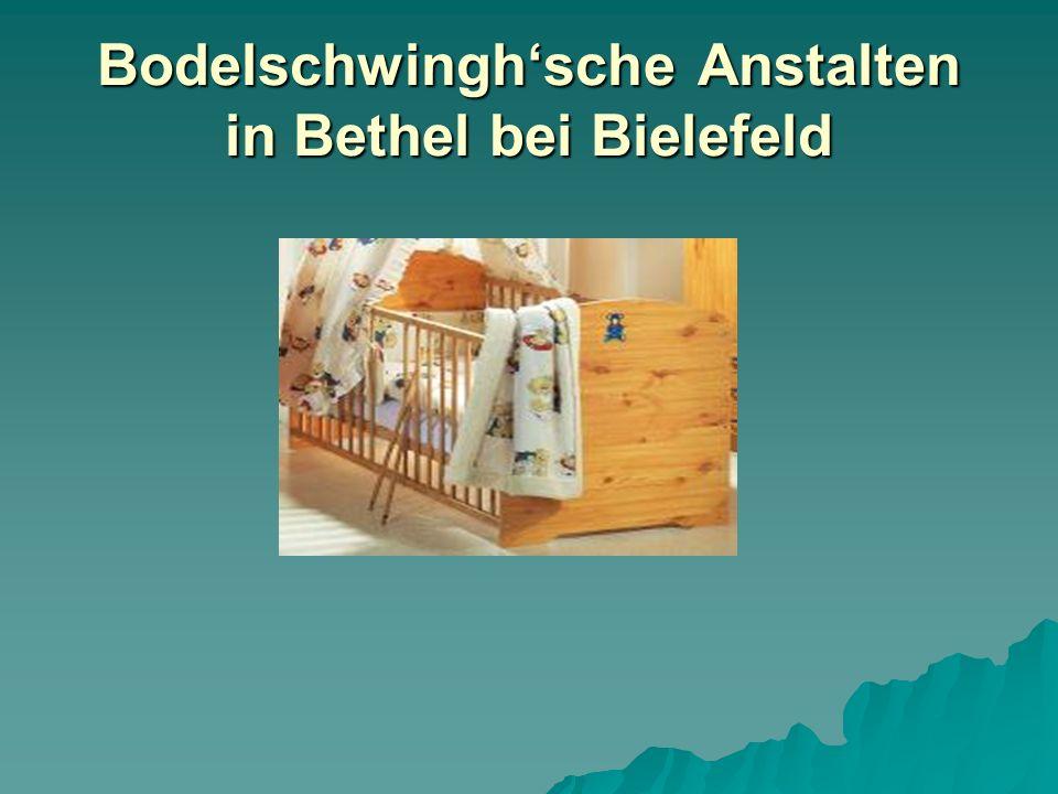 Bodelschwingh'sche Anstalten in Bethel bei Bielefeld