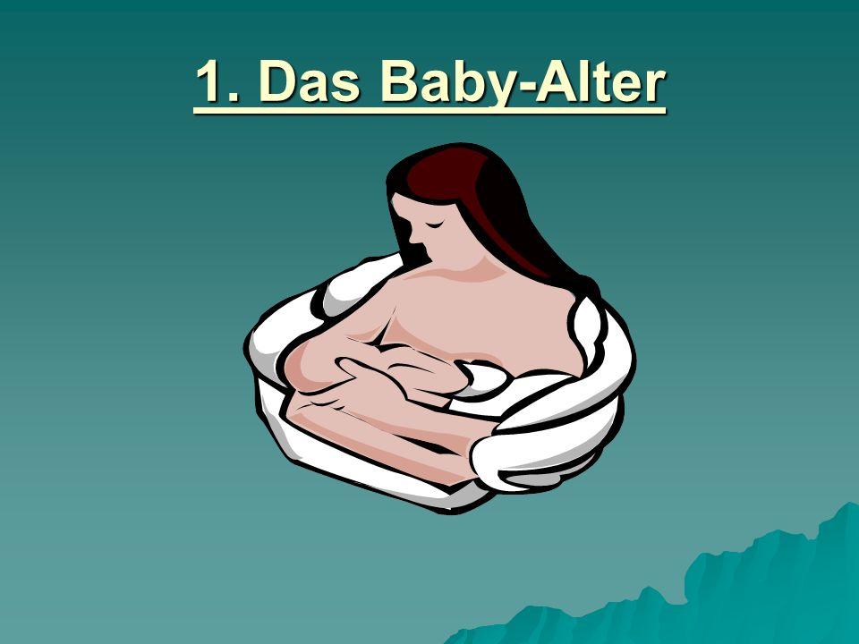 1. Das Baby-Alter