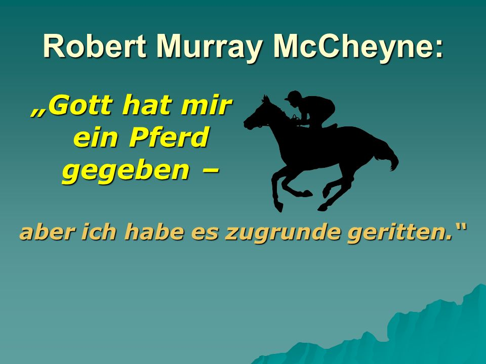Robert Murray McCheyne:
