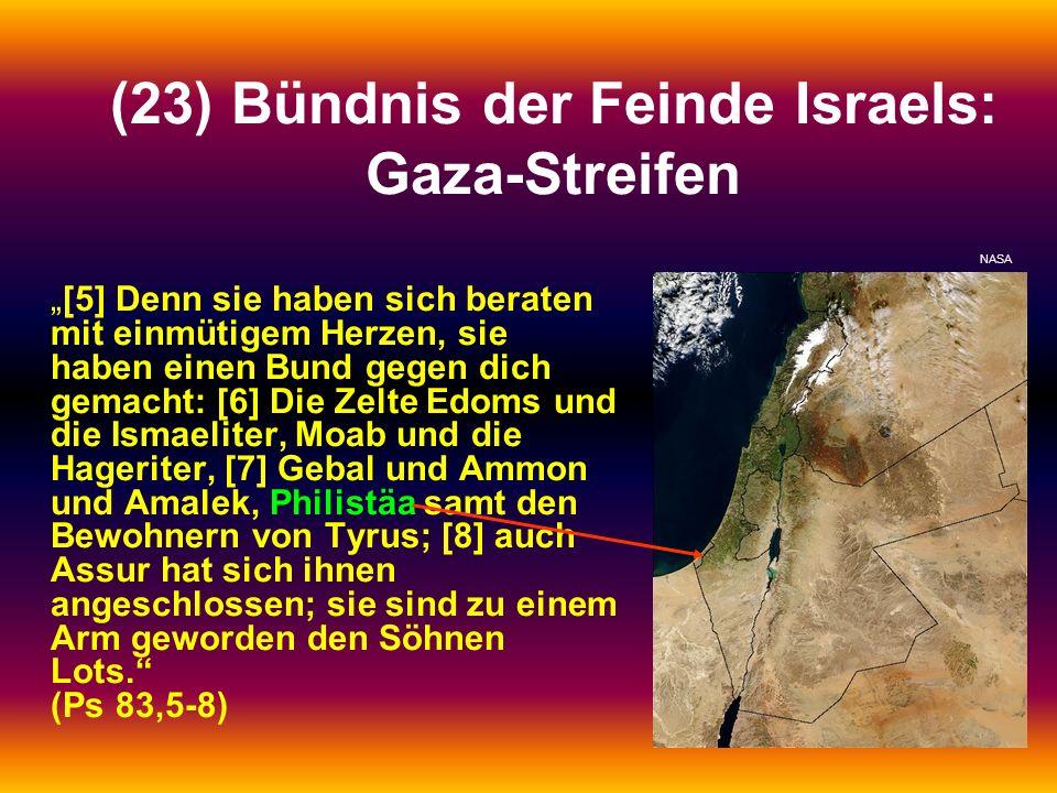(23) Bündnis der Feinde Israels: Gaza-Streifen