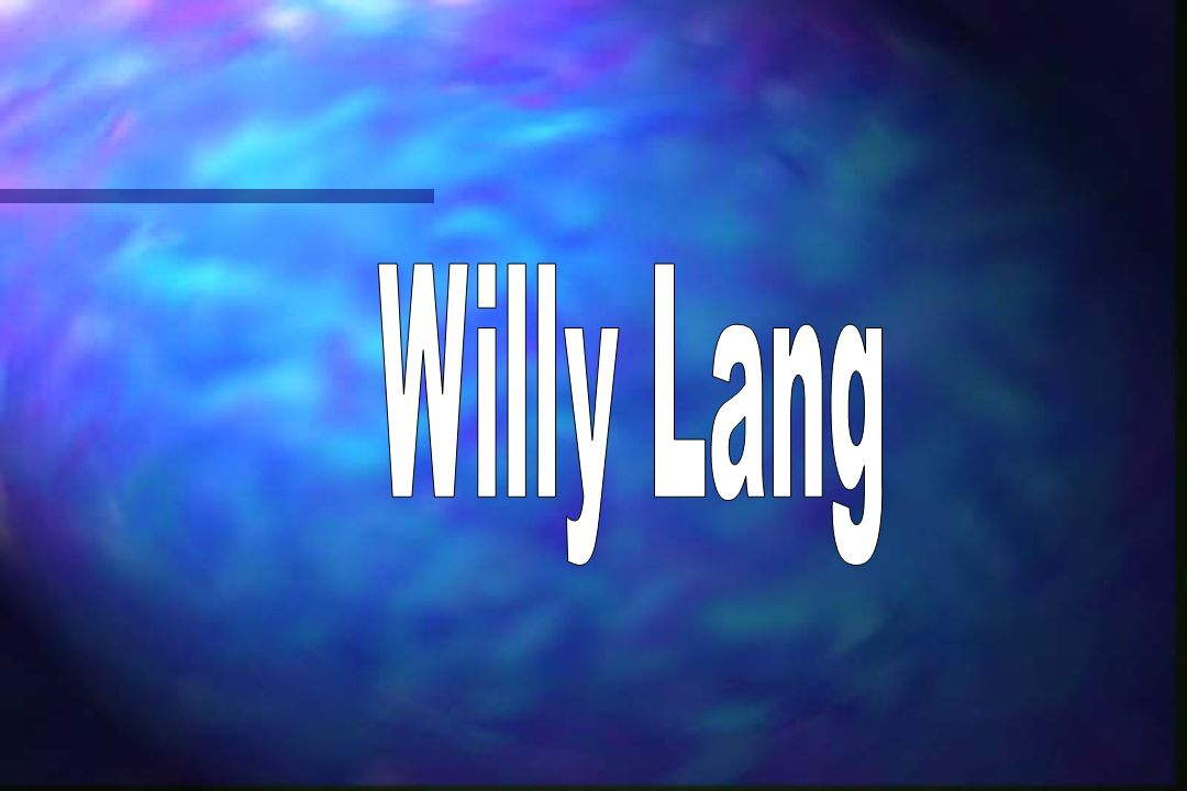 Willy Lang