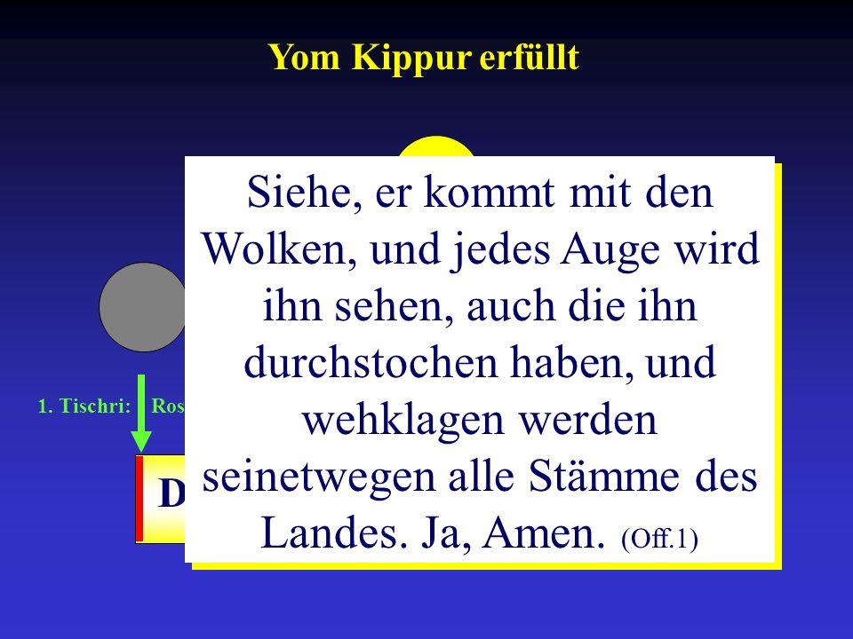 Yom Kippur erfüllt