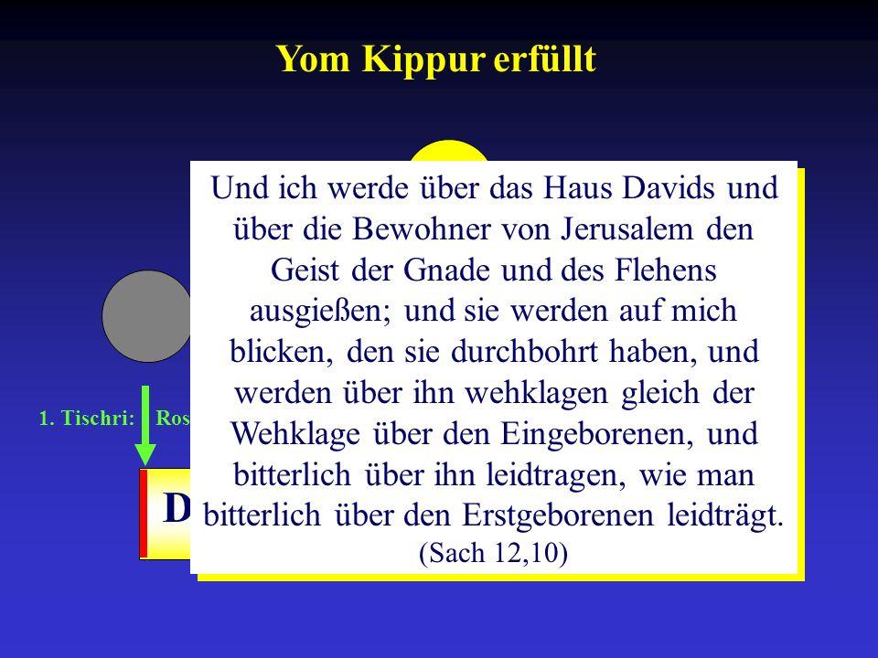 Drangsalszeit Yom Kippur erfüllt