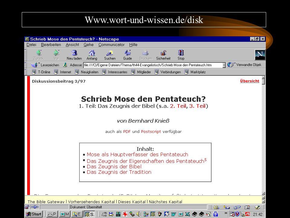 Www.wort-und-wissen.de/disk