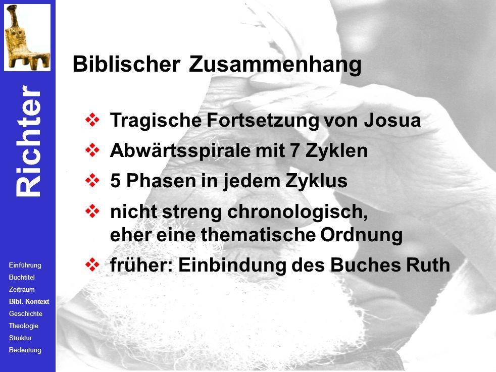 Biblischer Zusammenhang