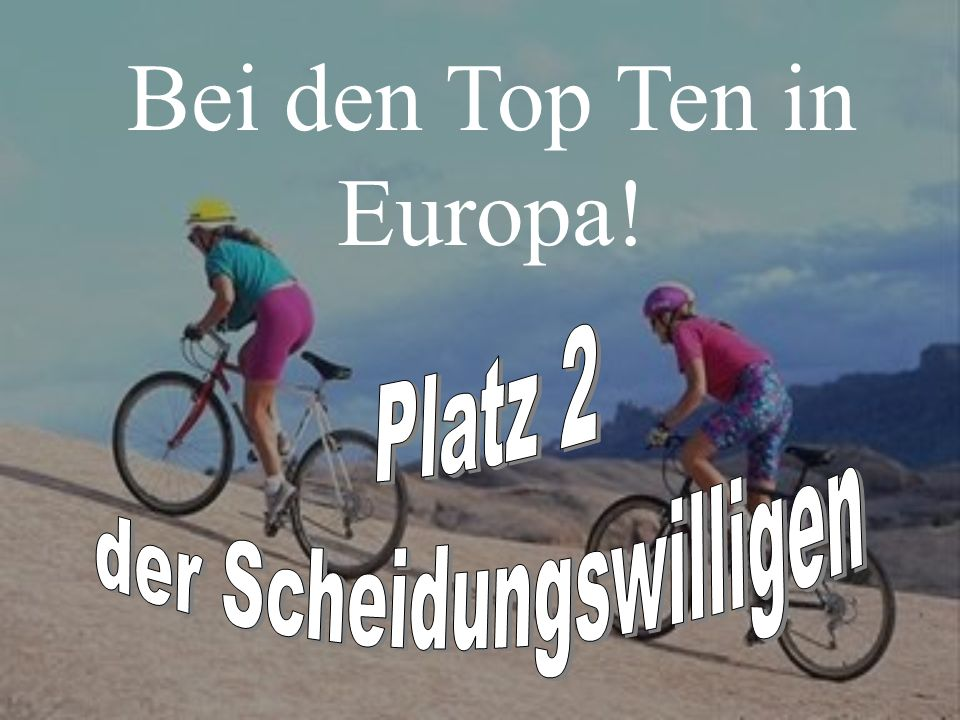 Bei den Top Ten in Europa!