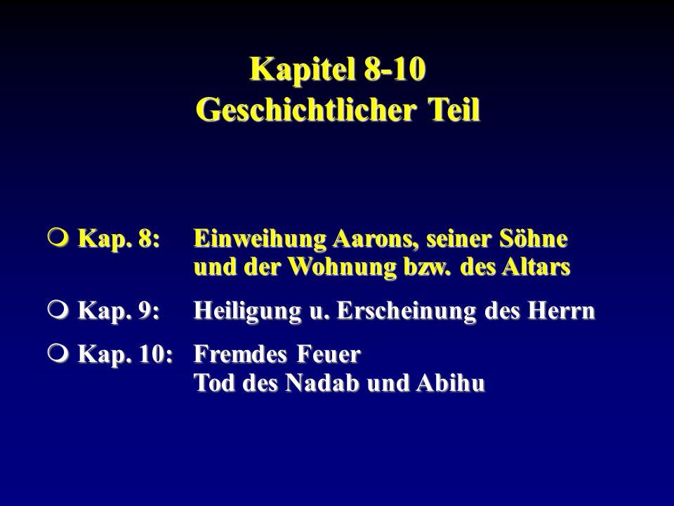 Kapitel 8-10 Geschichtlicher Teil