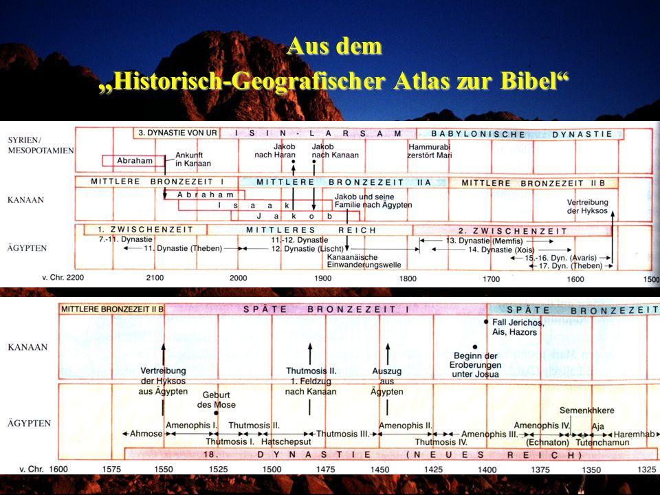 """Aus dem """"Historisch-Geografischer Atlas zur Bibel"""