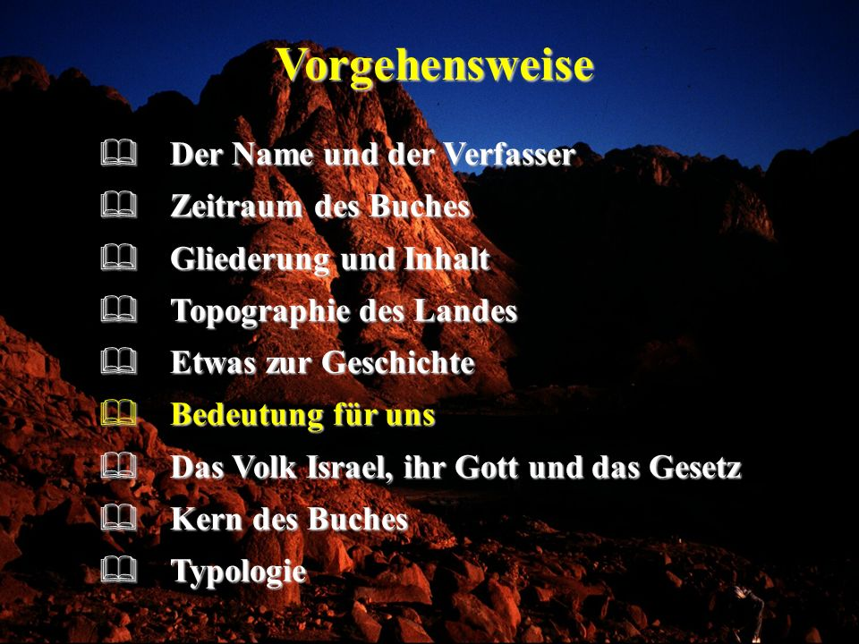 Vorgehensweise Der Name und der Verfasser Zeitraum des Buches