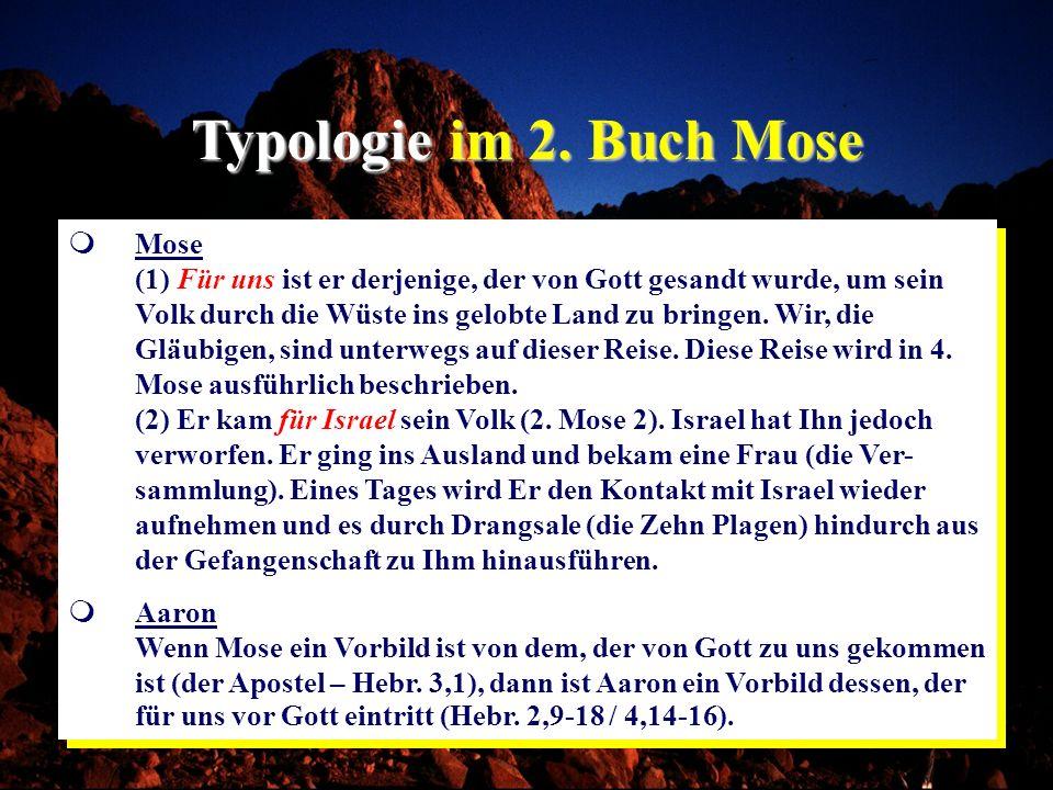 Typologie im 2. Buch Mose