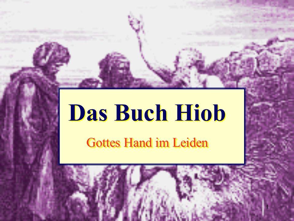 Das Buch Hiob Gottes Hand im Leiden