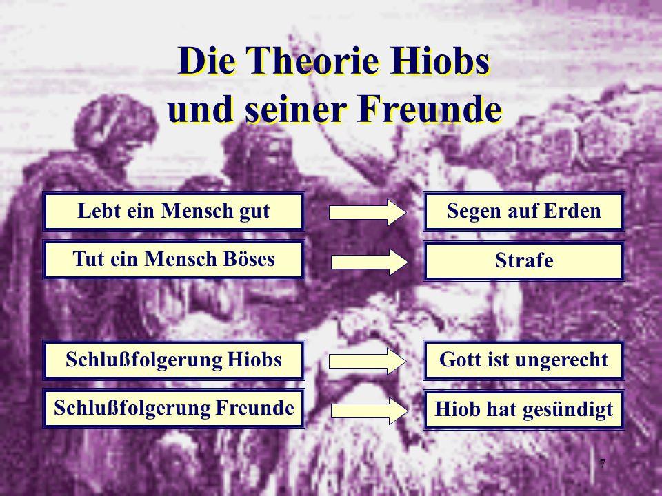 Die Theorie Hiobs und seiner Freunde