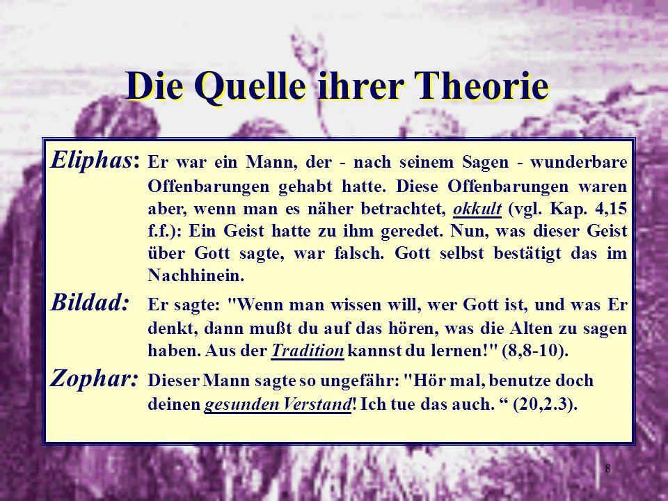 Die Quelle ihrer Theorie