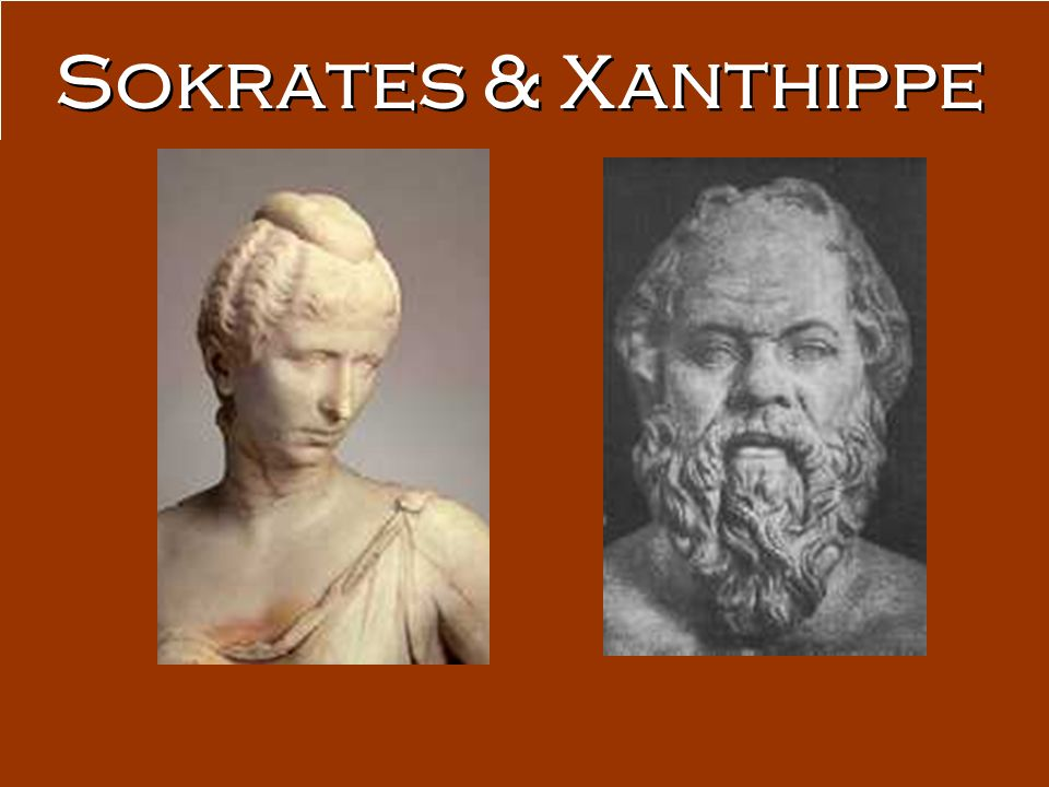 Sokrates & Xanthippe