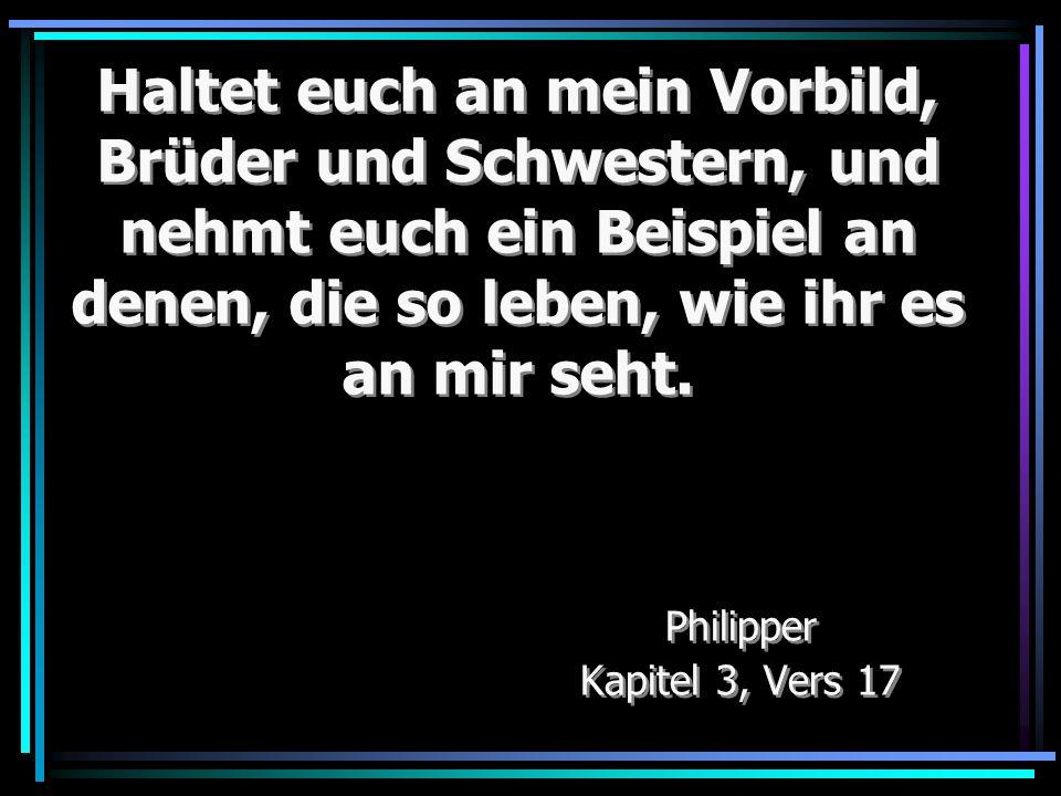 Philipper Kapitel 3, Vers 17