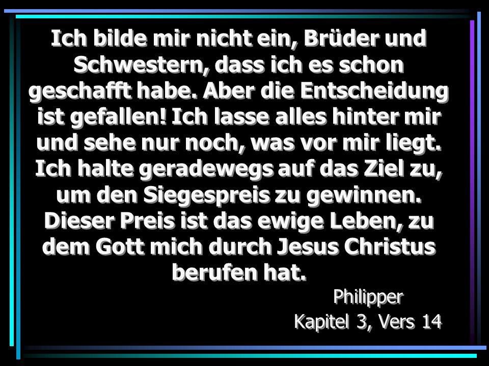 Philipper Kapitel 3, Vers 14
