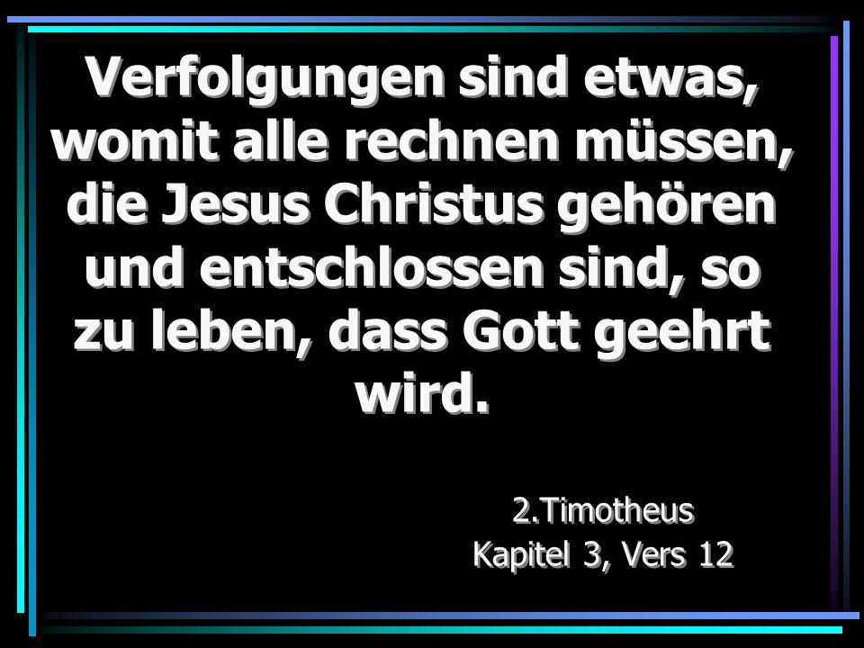 2.Timotheus Kapitel 3, Vers 12