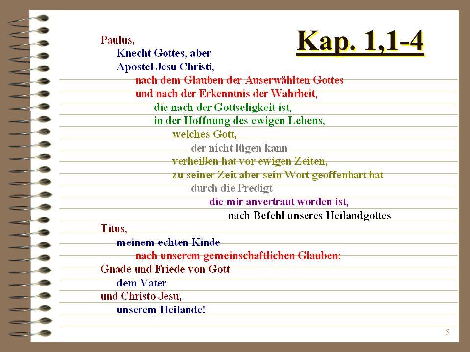 Kap. 1,1-4