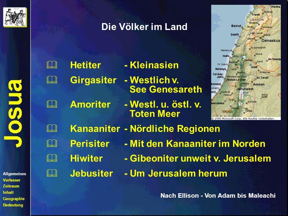 Girgasiter - Westlich v. See Genesareth