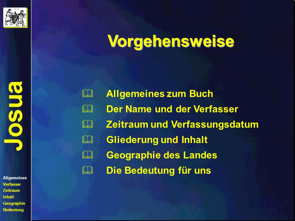 Vorgehensweise Allgemeines zum Buch Der Name und der Verfasser