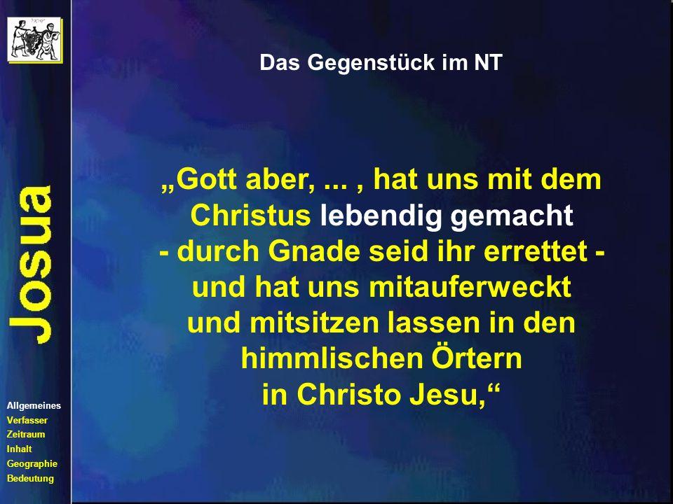 """""""Gott aber, ... , hat uns mit dem Christus lebendig gemacht"""