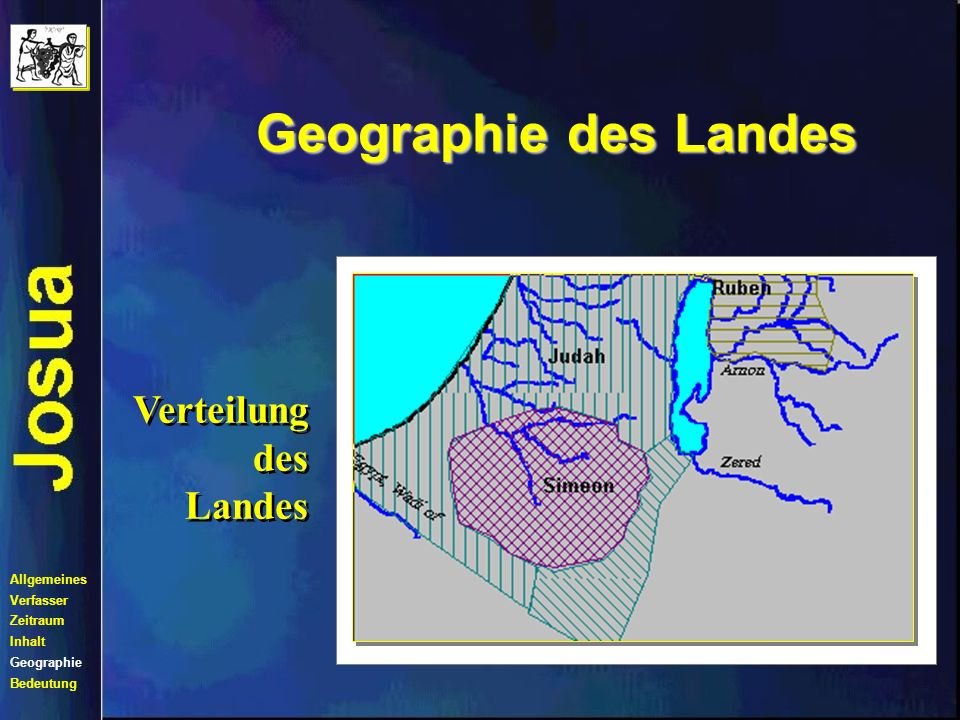 Geographie des Landes Verteilung des Landes Allgemeines Verfasser