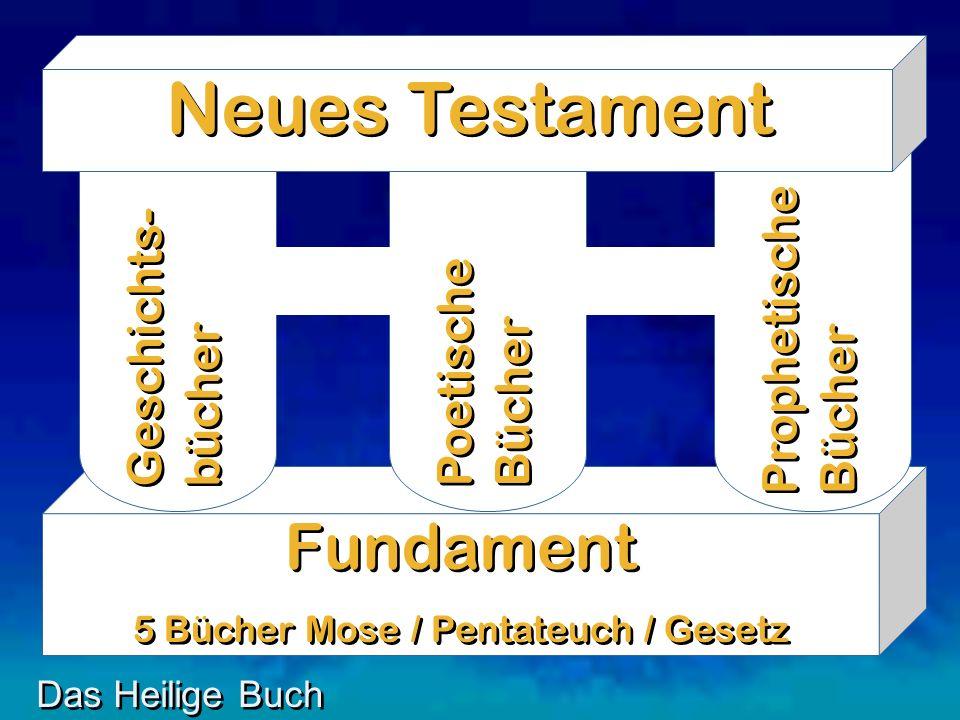 5 Bücher Mose / Pentateuch / Gesetz