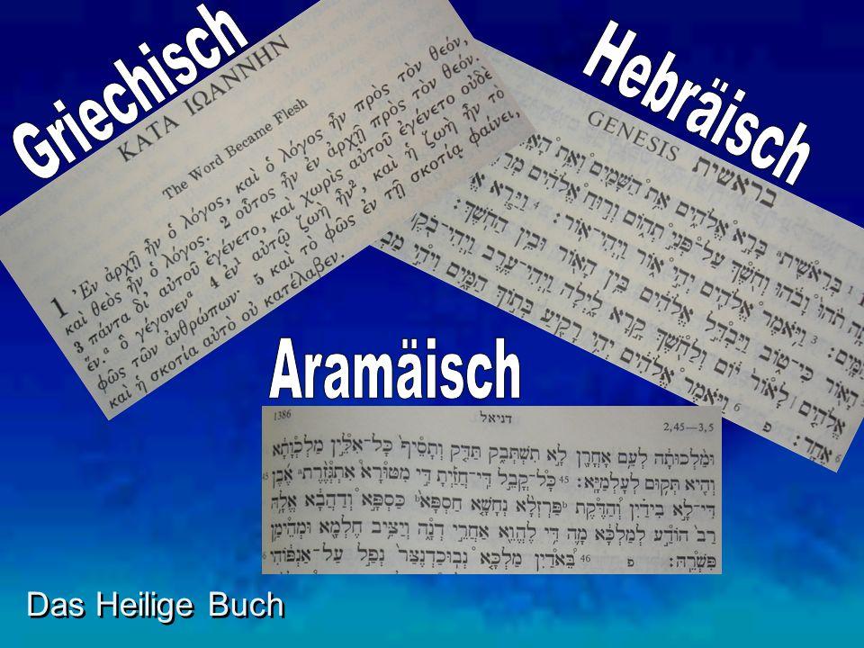 Griechisch Hebräisch Aramäisch Das Heilige Buch