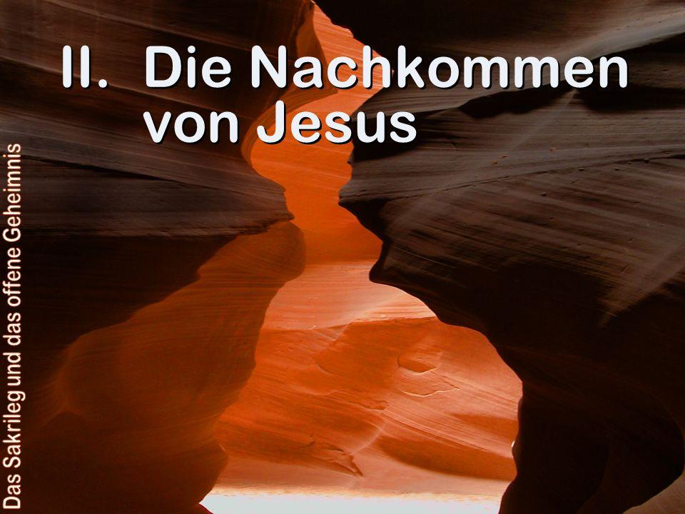 Die Nachkommen von Jesus