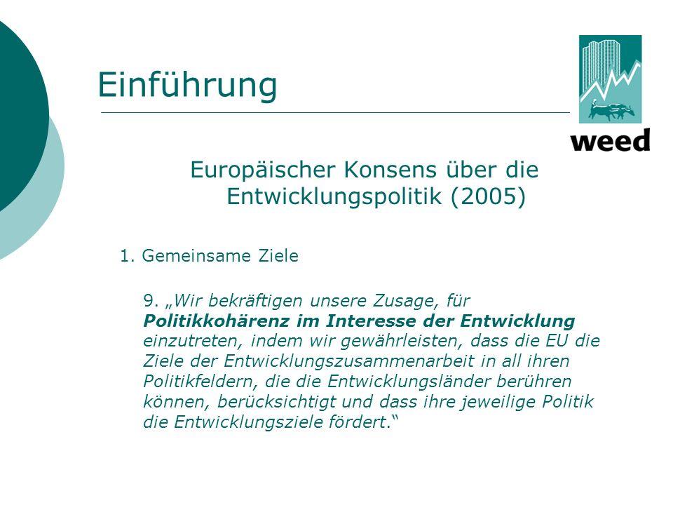 Europäischer Konsens über die Entwicklungspolitik (2005)