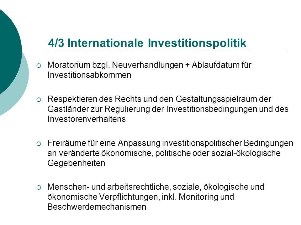 4/3 Internationale Investitionspolitik