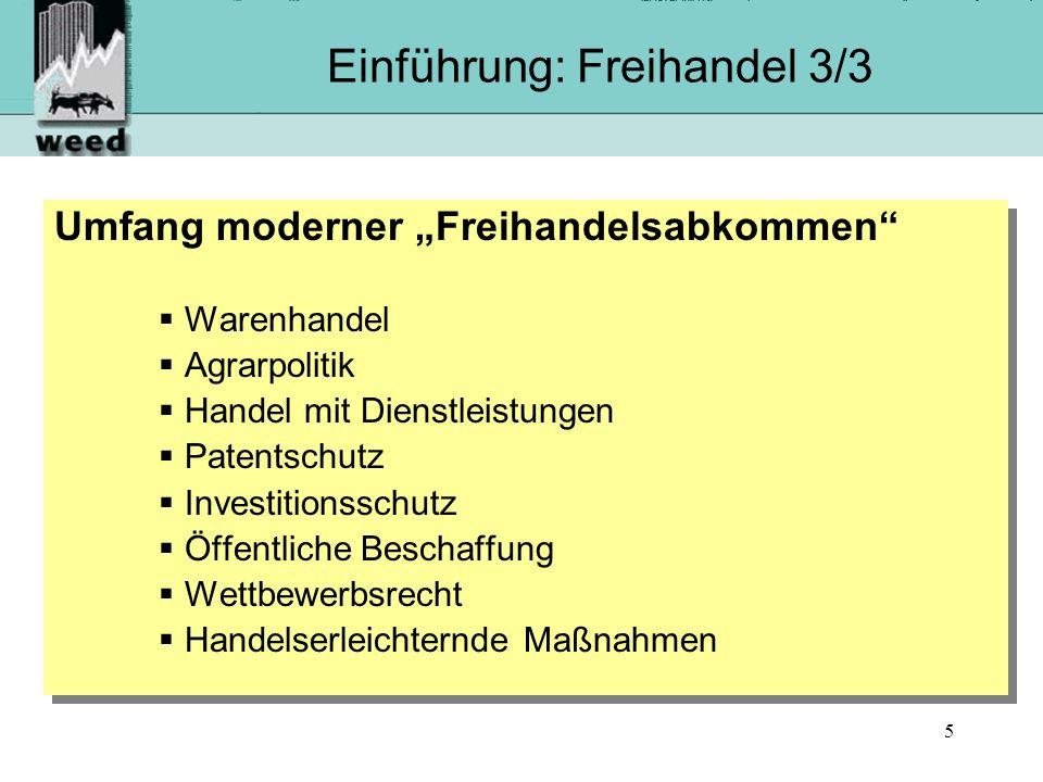 Einführung: Freihandel 3/3